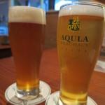 37613661 - キィウィIPAと秋田美人のビール