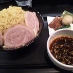 麺屋永吉 花鳥風月 - 特製つけ麺+ダブル盛