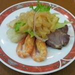京華園 - 紅龍コース(4320円) 前菜