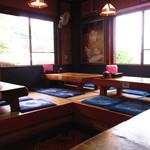 七滝茶屋 - 店内