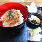 七滝茶屋 - わさび丼