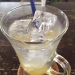 naruco cafe - ゆずソーダ