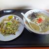 ぎおんラーメン - 料理写真:「やきめしセット(ラーメン+やきめし半分)」800円