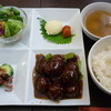 ふう - 料理写真:プレートランチ(肉団子)