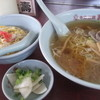 寿 - 料理写真:ラーメン+半チャーハン770円