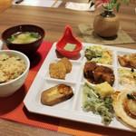 ゆづくしSalon 一の坊 - 約40種類の夕食バイキング