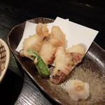 ありまや - 明石タコの天ぷら