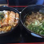 壱 - カツ丼とミニうどんセット