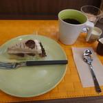 halcafe229 - ケーキセット1,080円(税込)