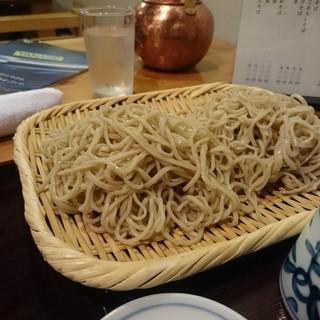 吾妻橋薮そば - 料理写真:もりそば中