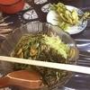 山本商店 - 料理写真:山菜そばとこしあぶらのてんぷら