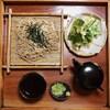 そば処 みちこ - 料理写真:手打ち 二八そば 天ぷら付