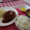 わかな - 料理写真:ハンバーグ定食¥500!