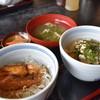 浜ん小浦 - 料理写真:選べる!二種丼(みやび鯛荒炊き丼・B5鯛茶漬け)¥1059