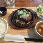 ARK HiLLS CAFE - おろしポン酢ハンバーグランチ
