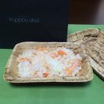 37700939 - お土産                       桜鱒のご飯