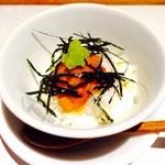 37713516 - 雲丹山芋豆腐♪