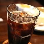 お菓子の家 鎌倉小川軒 - アイスコーヒ これはちょっと・・・