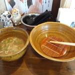 37714262 - ざるで麺の水切り
