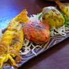 あっぷーがる - 料理写真:海鮮タンドリー料理盛り合わせ