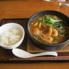 デニーズ - 料理写真:「海老味噌うどん」です。