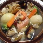 アラビアン酒場 ココブランカ - 魚介のタジン