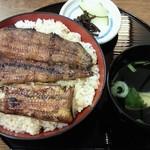 浜松 - 上うなぎ丼(2,750円)+ごはん大盛り(50円)
