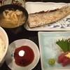 三代目 魚真 - 料理写真:刺身付き太刀魚塩焼きセット