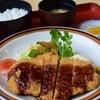 旅館食堂 くり屋 - 料理写真:黒豚とんかつ定食