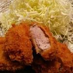 自然坊 - 料理写真:ヒレかつ定食(2700円)