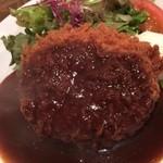 洋食ボストン - ミンチカツ ディナー