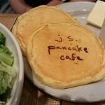 J.S. PANCAKE CAFE - ほわほわなパンケーキ