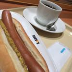 ドトールコーヒーショップ - 安定のジャーマンドッグのモーニングセット