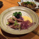 Japanese Dining ゑびすダイニング - 蛍烏賊の酢味噌和え