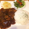 キッチン アンド マム - 料理写真:ランチ 牛煮込みシチュープレート仕立て 1250円 【 2015年5月 】