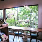 ヤサシイウタ - 大きな窓からは緑いっぱいのお庭が♡