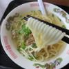 二代目清美食堂 - 料理写真:ツルツルちゃんぽん麺