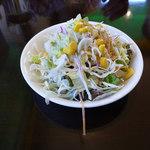 インド・ネパールカレー ミテリ - 料理写真:サラダ