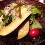 鉄板焼 濠 - サラダ