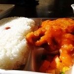 きやり亭 - 料理写真:チリチキン(15年2月)