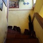 ラ・コシーナ・ガブリエラ・メヒカーナ - 階段