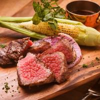 岩手県産黒毛和牛門崎熟成肉のグリル1種