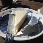 MANIWA FARM チーズケーキ工房 - レアチーズケーキ:410円
