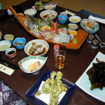 金龍 - 夕食