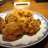 ハマムラ - 料理写真:唐揚げ。ボリュームは十分、かなり薄味。