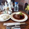とわいらいと - 料理写真:ハンバーグ 200gライス付き 800円(!)