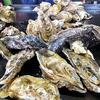 吉野かき小屋 - 料理写真:焼き牡蠣 & 焼きホタテ(焼く前)