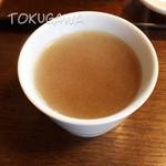 天徳 - 天徳 蕎麦湯