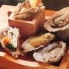 縁 - 料理写真:牡蠣食べ比べ