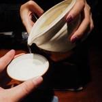 蕎麦懐石 無庵 - 純米酒
